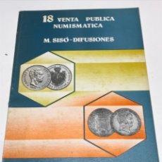 Catálogos y Libros de Monedas: VENTA NUMISMATICA 1978. Lote 172797769