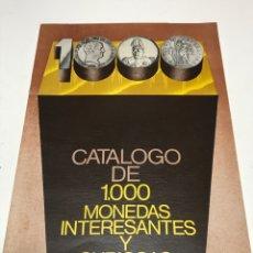 Catálogos y Libros de Monedas: CATALOGO NUMISMATICA. Lote 172797868