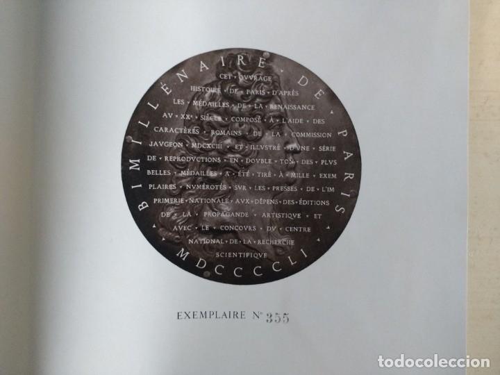 Catálogos y Libros de Monedas: HISTOIRE DE PARIS D'APRÈS LES MÉDAILLES DE LA RENAISSANCE AU XXe SIÈCLE (BABELON & JACQUIOT, 1951) - Foto 5 - 173957450