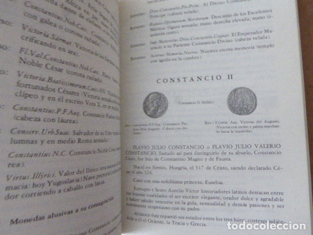 Catálogos y Libros de Monedas: INICIACION EN LA NUMISMATICA DEL IMPERIO ROMANO. CRISTOBAL CANTERO LORENTE. 1978. 352 PP. ILUS- - Foto 2 - 173965465