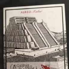 Catálogos y Libros de Monedas: CATÁLOGO ÁUREO & CALICÓ SUBASTA GASPAR DE PORTOLÀ. 17-10-2018.. Lote 174209172