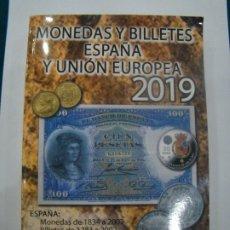 Catálogos y Libros de Monedas: NUMISMÁTICA REQUEJO CATALOGO HERMANOS GUERRA MONEDAS Y BILLETES 2019. Lote 174433349