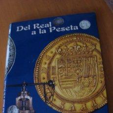 Catálogos y Libros de Monedas: ALBUM COLECCION MONEDAS DEL REAL A LA PESETA. Lote 174686638