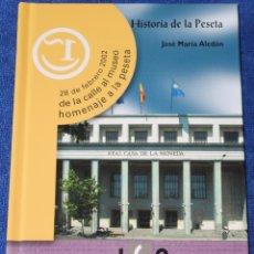 Catálogos y Libros de Monedas: HISTORIA DE LA PESETA - JOSE MARÍA ALEDON - INSTITUTO DE CRÉDITO OFICIAL (2002). Lote 175537648