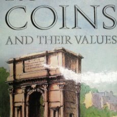 Catálogos y Libros de Monedas: ROMAN COINS AND THEIR VALUES. DAVID R. SEAR.. Lote 175627920