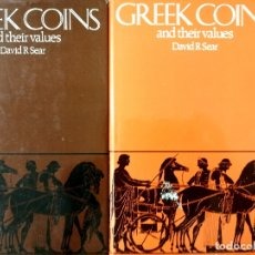 Catálogos y Libros de Monedas: GREEK COINS AND THEIR VALUES. DAVID R.SEAR.. Lote 175628125