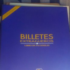 Catálogos y Libros de Monedas: LIBRO DE FACSIMILES DE BILLETES EXTRANJEROS - CENTRAL HISPANO. Lote 175755047