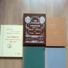 Catálogos y Libros de Monedas: LAS MONEDAS ESPAÑOLAS DESDE LOS REYES CATOLICOS. LA PLATA ESPAÑOLA. CATÁLOGO GENERAL DE LA MONEDA.. Lote 176467898