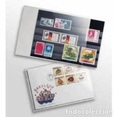 Catálogos y Libros de Monedas: FUNDA CRISTAL 135 X 185 MM.. Lote 222038401