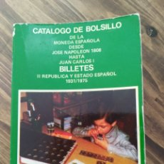 Catálogos y Libros de Monedas: CATÁLOGO BOLSILLO NUMISMÁTICA MONEDAS BILLETES 1990. Lote 177562093