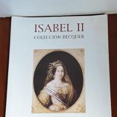 Catálogos y Libros de Monedas: CATALOGO SUBASTA AUREO COLECCION BECQUER.ISABEL II. ABRIL 2000. Lote 177886718