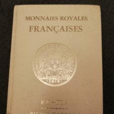 Catálogos y Libros de Monedas: CATALOGO MONEDAS FRANCIA. VICTOR GADOURY. Lote 180046347