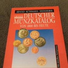 Catálogos y Libros de Monedas: CATALOGO MONEDAS. Lote 180046381