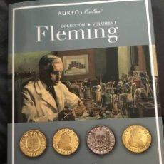 Catálogos y Libros de Monedas: CATÁLOGO AUREO & CALICÓ COLECCIÓN FLEMING. VOL. I. Lote 180152017