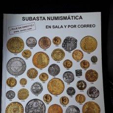 Catálogos y Libros de Monedas: CATALOGO SUBASTA AUREO. OCTUBRE 2016. Lote 180339212