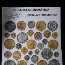Catálogos y Libros de Monedas: CATALOGO SUBASTA AUREO. DICIEMBRE 2016. Lote 180339268