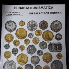 Catálogos y Libros de Monedas: CATALOGO SUBASTA AUREO. JULIO 2016. Lote 180339375
