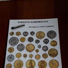 Catálogos y Libros de Monedas: CATALOGO SUBASTA AUREO. ABRIL 2011. Lote 180465157