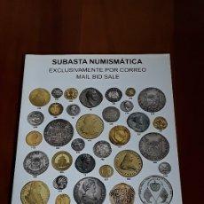 Catálogos y Libros de Monedas: CATALOGO SUBASTA AUREO. SEPTIEMBRE 2016. Lote 180465313