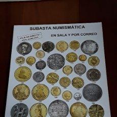 Catálogos y Libros de Monedas: CATALOGO SUBASTA AUREO. NOVIEMBRE 2012. Lote 180465510