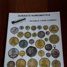 Catálogos y Libros de Monedas: CATALOGO SUBASTA AUREO. NOVIEMBRE 2011. Lote 180465667
