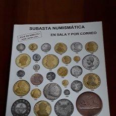 Catálogos y Libros de Monedas: CATALOGO SUBASTA AUREO. MARZO 2013. Lote 180465711