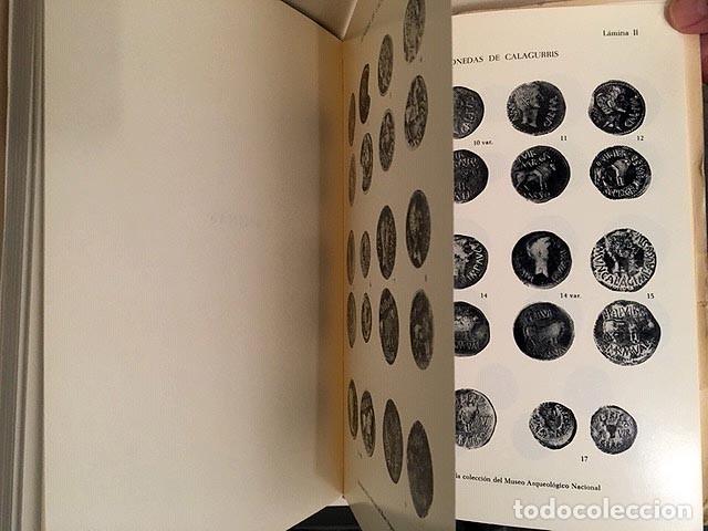 LAS ACUÑACIONES HISPANO-ROMANAS DE CALAGURRIS. (MONEDAS DE CALAHORRA) AUTÓGRAFO (Numismática - Catálogos y Libros)