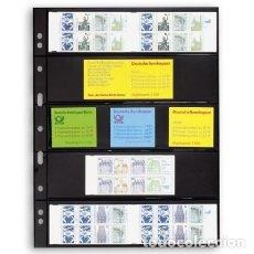 Catálogos y Libros de Monedas: HOJA GRANDE NEGRA. TAMAÑO 242X312MM. 5 DEPARTAMENTOS.. Lote 180839022