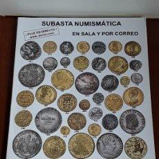 Catálogos y Libros de Monedas: CATALOGO SUBASTA AUREO. OCTUBRE 2014. Lote 180934032