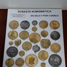 Catálogos y Libros de Monedas: CATALOGO SUBASTA AUREO. ABRIL 2016. Lote 180934190