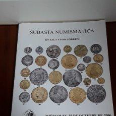Catálogos y Libros de Monedas: CATALOGO SUBASTA AUREO. OCTUBRE 2006. Lote 180934448