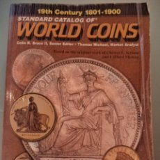 Catálogos y Libros de Monedas: WORLD COINS 1801 AL 1900. Lote 181943202