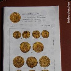 Catálogos y Libros de Monedas: JEAN ELSEN LISTA DE PRECIOS VENTA DIRECTA 281 JULIO-SEPTIEMBRE 2017. Lote 182164947