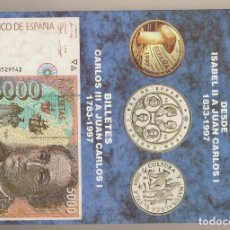 Catálogos y Libros de Monedas: CATÁLOGO DE LAS MONEDAS ESPAÑOLAS EDICIÓN 1998. HNOS. GUERRA. MONEDAS 1833-1997. BILLETES 1783-1997. Lote 182467872