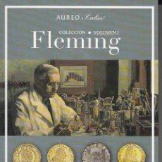 Catálogos y Libros de Monedas: CATALOGO AUREO: COLECCION FLEMING - VOL I. Lote 182497323