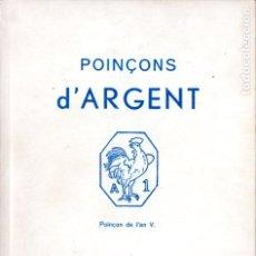 Catálogos y Libros de Monedas: POINÇONS D'ARGENT TARDY (1980) PUNZONES DE LA PLATA DE TODO EL MUNDO Y ÉPOCAS.. Lote 182627632