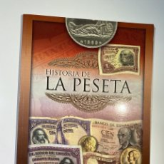 Cataloghi e Libri di Monete: HISTORIA DE LA PESETA. MADRID, 2001. INCOMPLETO. PAGS: 64. Lote 182886237