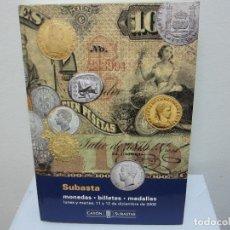 Catálogos e Livros de Moedas: CATÁLOGO ESPECTACULAR DE CAYÓN GRAN FORMATO (LIBRO). Lote 183344732