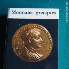 Catálogos y Libros de Monedas: G. K. JENKINS MONNAIES GRECQUES L'UNIVERS DES MONNAIES. Lote 183997232