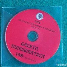 Catálogos y Libros de Monedas: ANE - GACETA NUMISMÁTICA 188 DICIEMBRE 2014. Lote 183998072