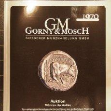 Catálogos y Libros de Monedas: GORNY & MOSCH AUKTION MÜNZEN DER ANTIKE 265 14/10/2019 MONEDA GRIEGA ROMANA JUDIA FILISTEA GRIEGA-IM. Lote 186258075