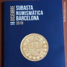 Catálogos y Libros de Monedas: CATÁLOGO HERVERA 18-12-2018 MONEDA HISPÁNICA ROMA BIZANCIO VISIGODOS HISPANO-MUSULMANA MEDIEVAL MODE. Lote 189568468