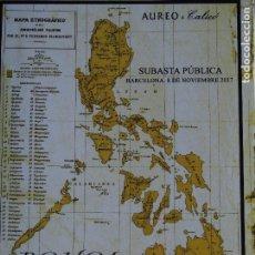 Catálogos y Libros de Monedas: CATÁLOGO AUREO CALICÓ BOHOL MONEDA ISLAS FILIPINAS 8-11-2017. Lote 189574100