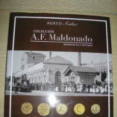 Catálogos y Libros de Monedas: CATALOGO DE MONEDAS - A F MALDONADO - ENERO 2020. Lote 190689338