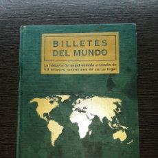 Cataloghi e Libri di Monete: LIBRO-ALBUM BILLETES DEL MUNDO. Lote 191269821