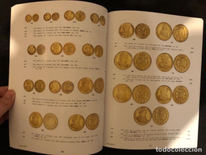 Catálogos y Libros de Monedas: Subasta numismatica Aureo y Calicó 4 julio 2012. - Foto 2 - 191300571
