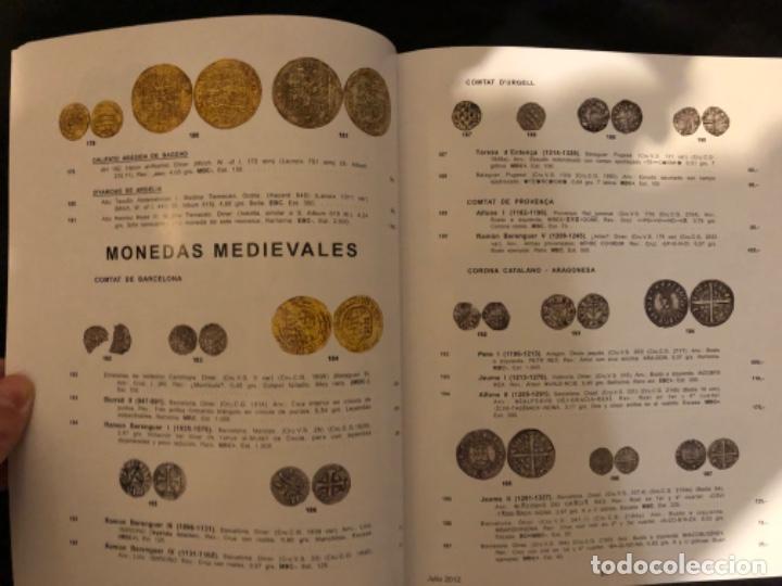 Catálogos y Libros de Monedas: Subasta numismatica Aureo y Calicó 4 julio 2012. - Foto 3 - 191300571