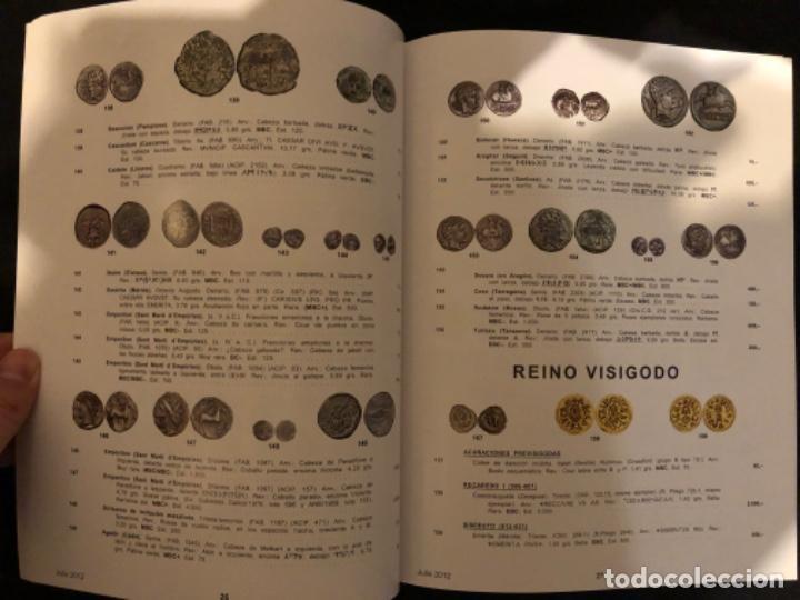 Catálogos y Libros de Monedas: Subasta numismatica Aureo y Calicó 4 julio 2012. - Foto 4 - 191300571