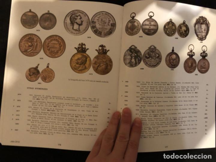 Catálogos y Libros de Monedas: Subasta numismatica Aureo y Calicó 4 julio 2012. - Foto 5 - 191300571