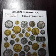 Catálogos e Livros de Moedas: CATÁLOGO SUBASTA EN SALA Y POR CORREO AUREO Y CALICÓ - 6 JULIO DE 2016. Lote 191300773